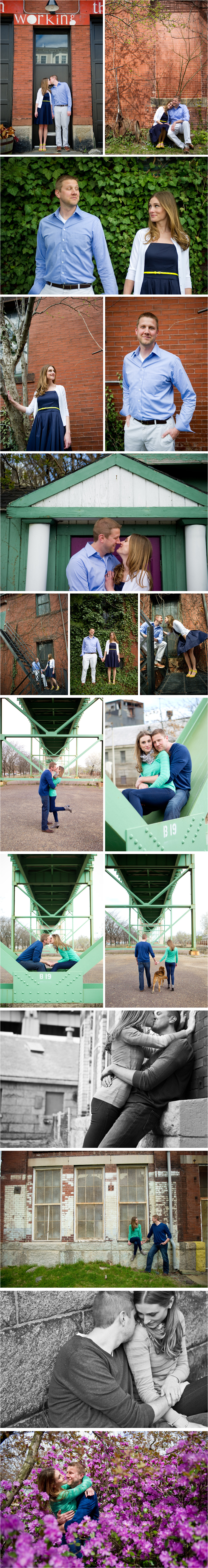 Charlestown MA engagement shoot
