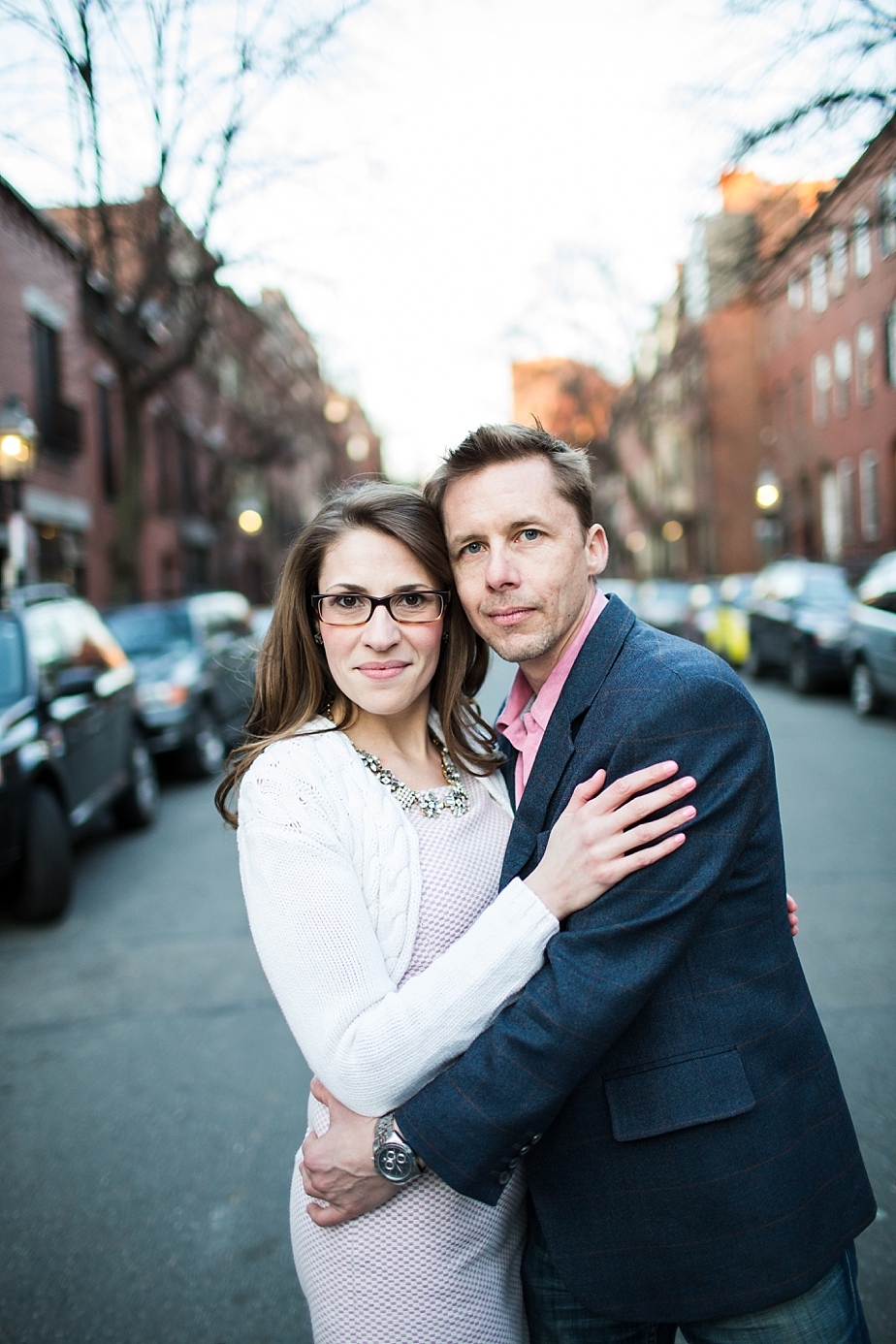Boston's Back Bay Lovebirds