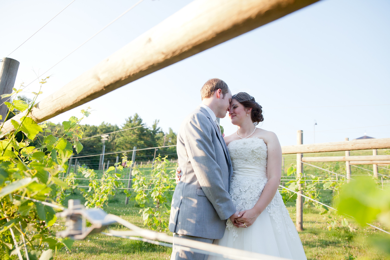 La Belle Winery wedding