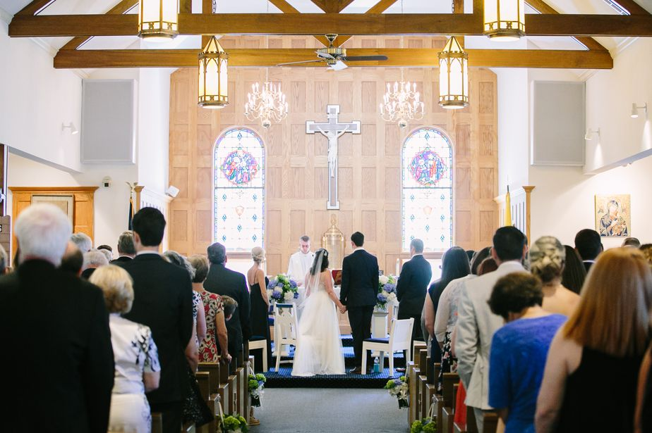 ceremony at holy redeemer church chatham ma