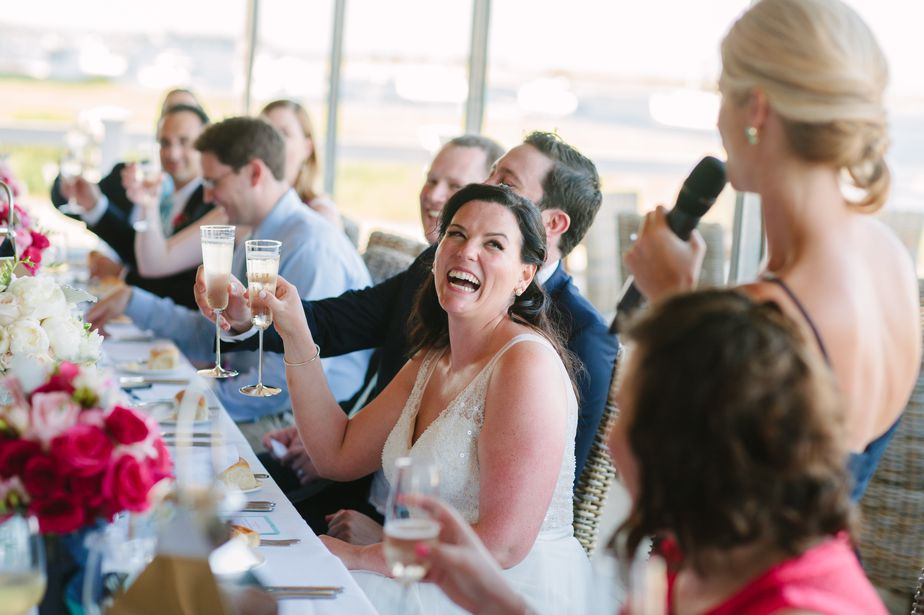 toasts at chatham bars inn wedding