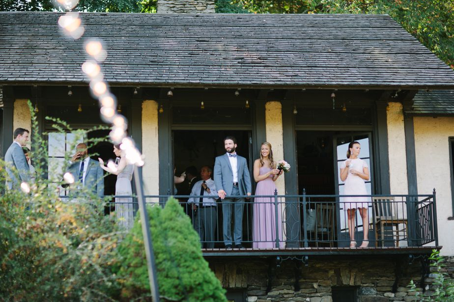 tea house wedding details at brookwood garden wedding