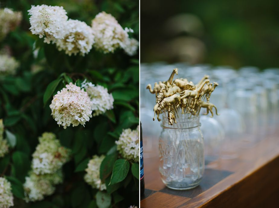 gold wedding details at brookwood garden wedding