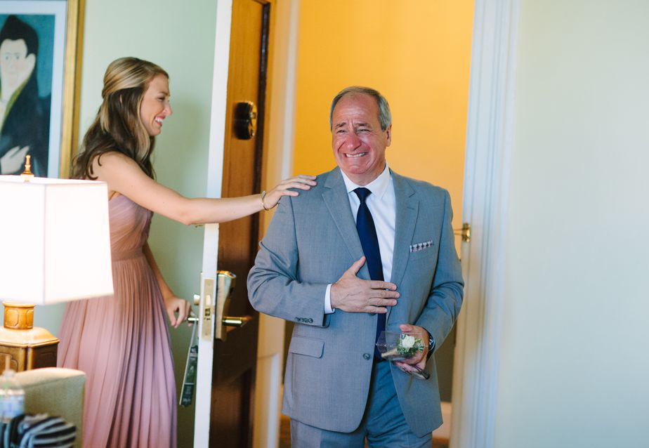 father of the bride at otesaga hotel and resort