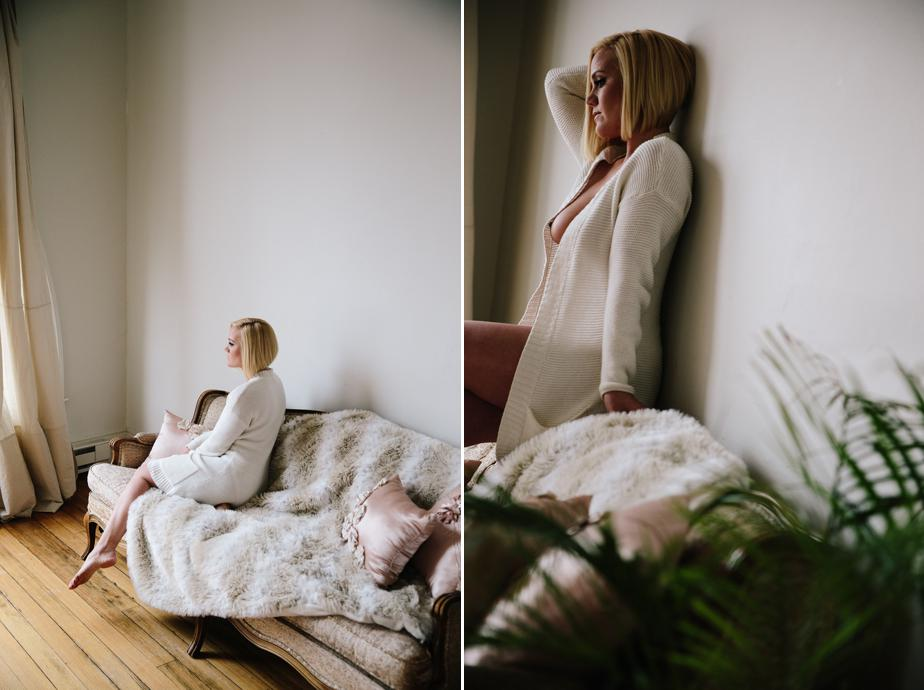 boston bridal boudoir session