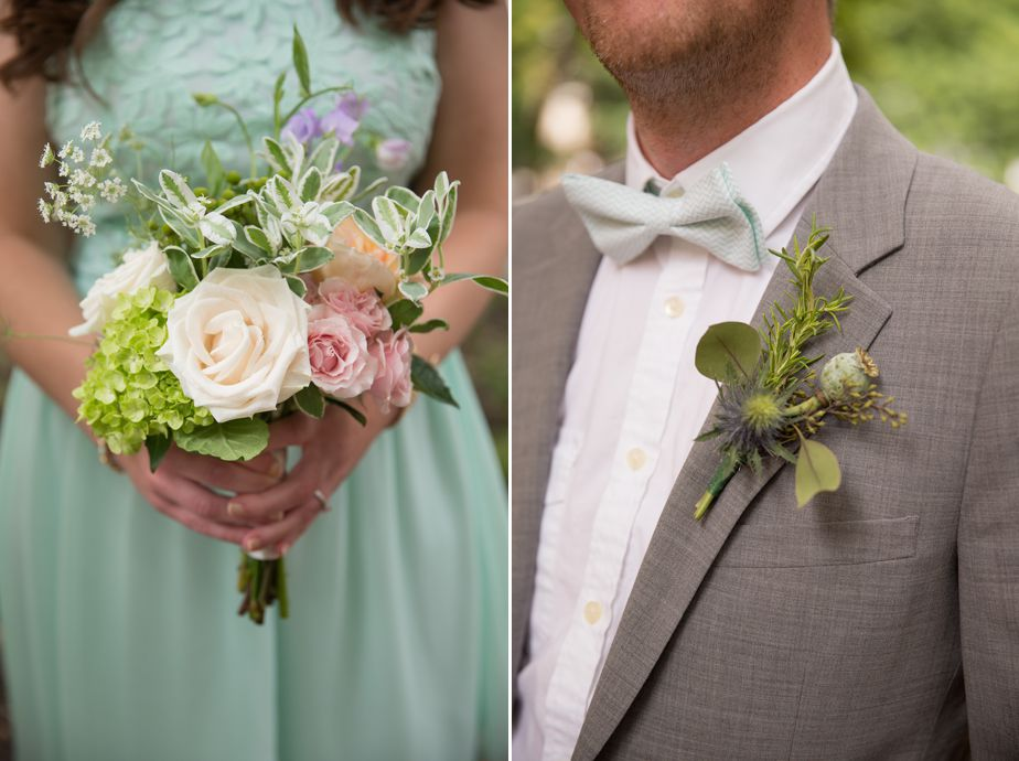 wedding party turquois details in cambridge ma