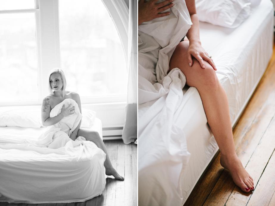 tasteful and creative boston boudoir photography