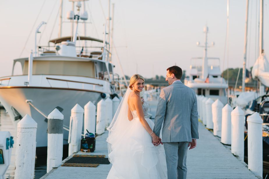 romantic and natural photography in rhode island at belle mer wedding newport RI