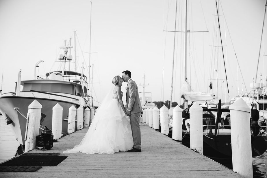 belle mer wedding newport RI black and white photography