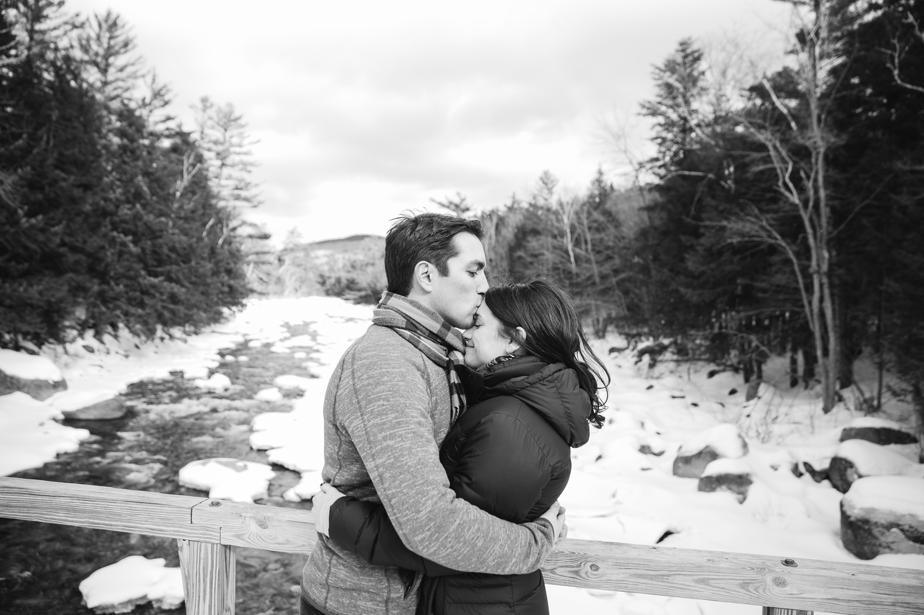 lincoln woods trail engagement shoot NH