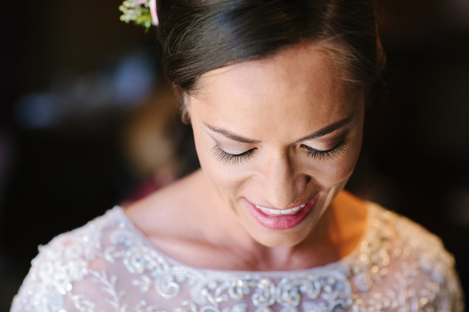 bridal portrait in BHLDN NH wedding photographer