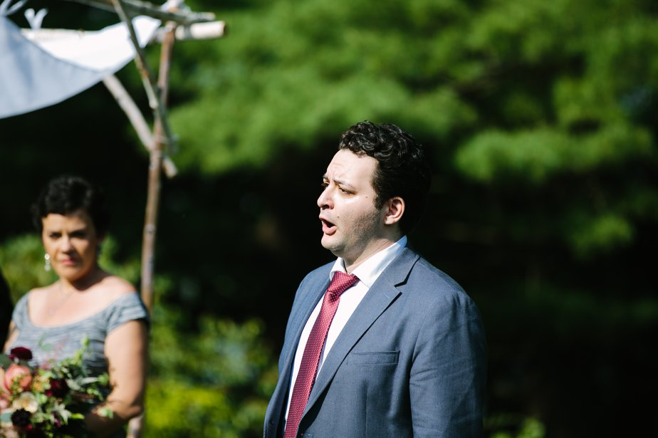 opera singer at moraine farm wedding