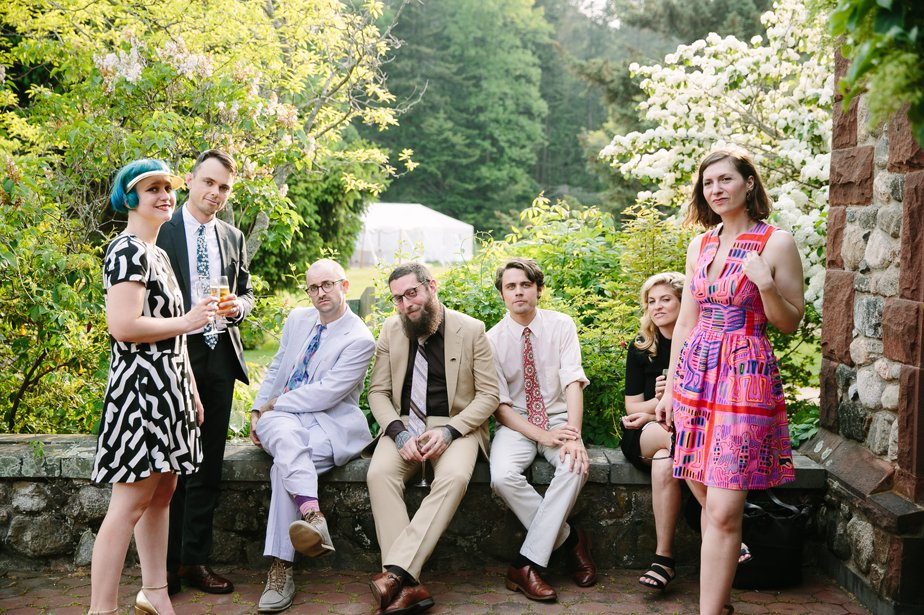 hipster wedding at moraine farm in beverly ma