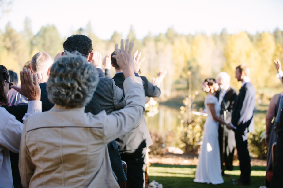 ceremony at pine canyon gold club