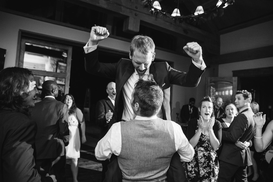 reception dance photos at destination wedding at Pine Canyon in Flagstaff AZ