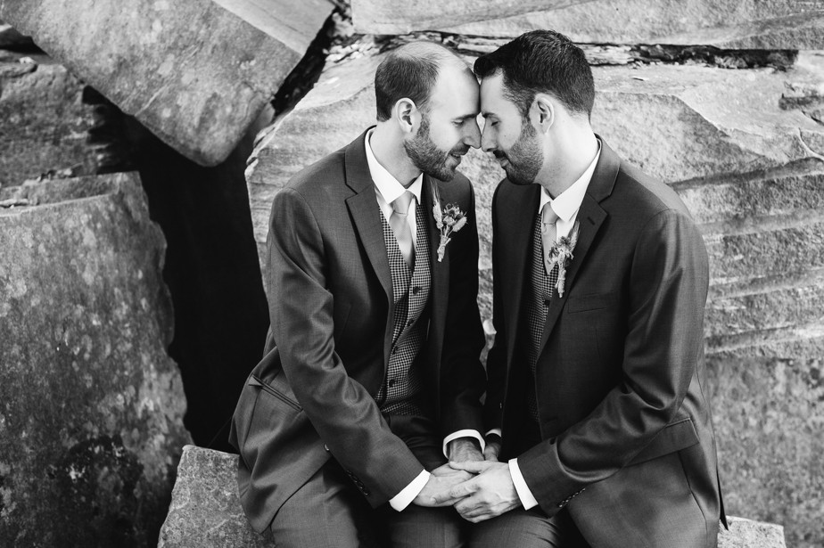 gay wedding at hildene in vermont