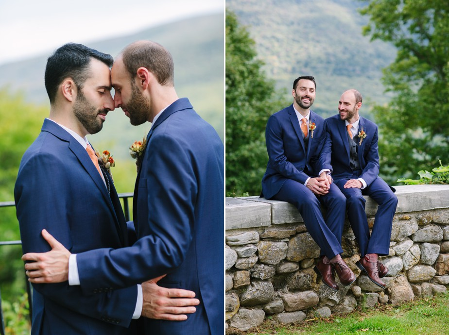 gay wedding at Dorset Inn and hildene in vermont