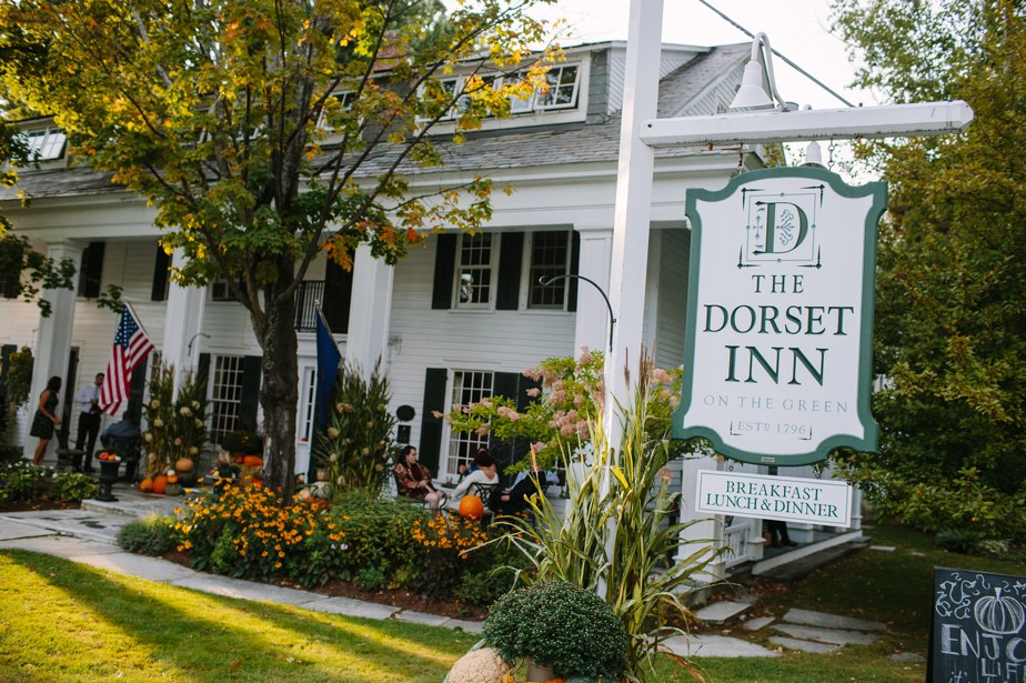dorset inn wedding in vermont
