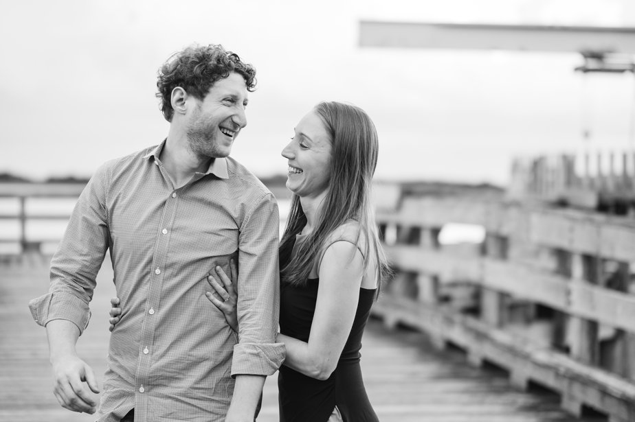 candid and natural engagement shoot ast JFK Library at UMass