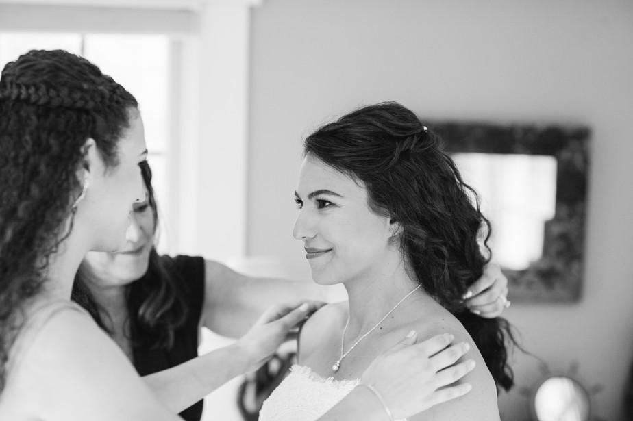 bride prep pilgrim monument wedding provincetown Ptown