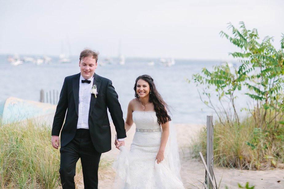 portraits at the canteen for pilgrim monument wedding provincetown Ptown