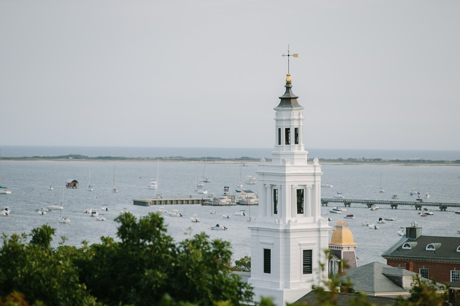 views from pilgrim monument wedding provincetown Ptown