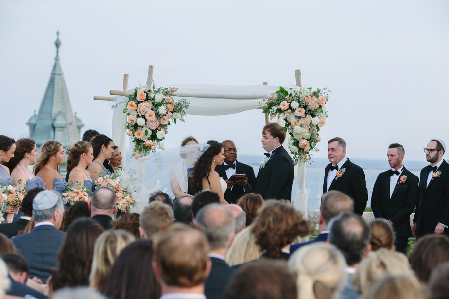 huppah pilgrim monument wedding provincetown Ptown