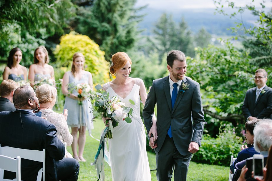 outdoor ceremony NH wedding photographer