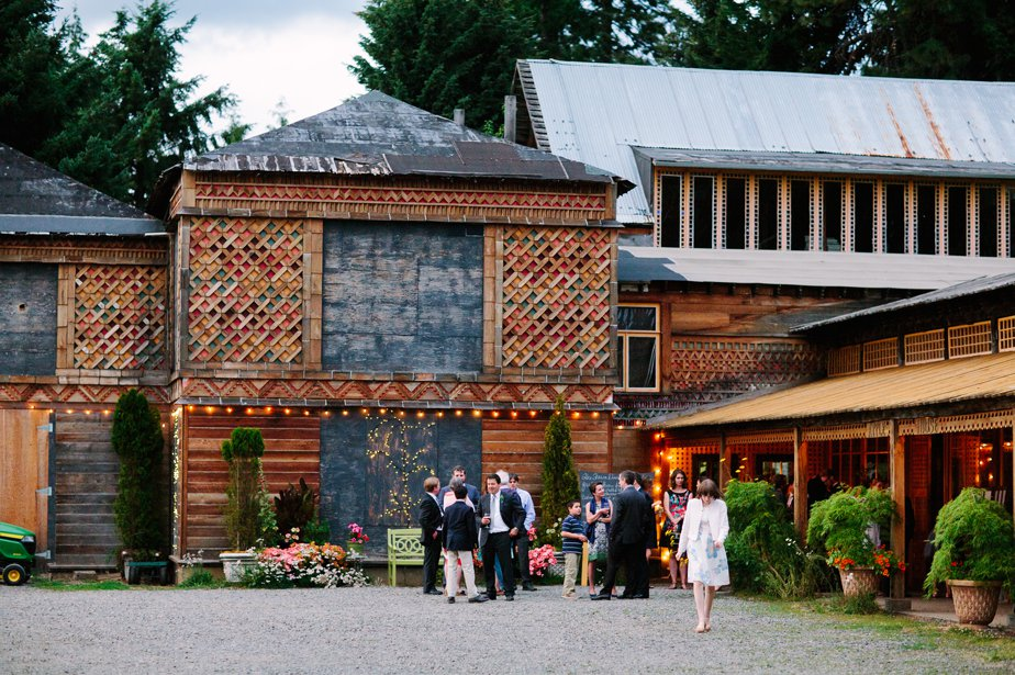 classy farm wedding at mt hood organic farm oregon