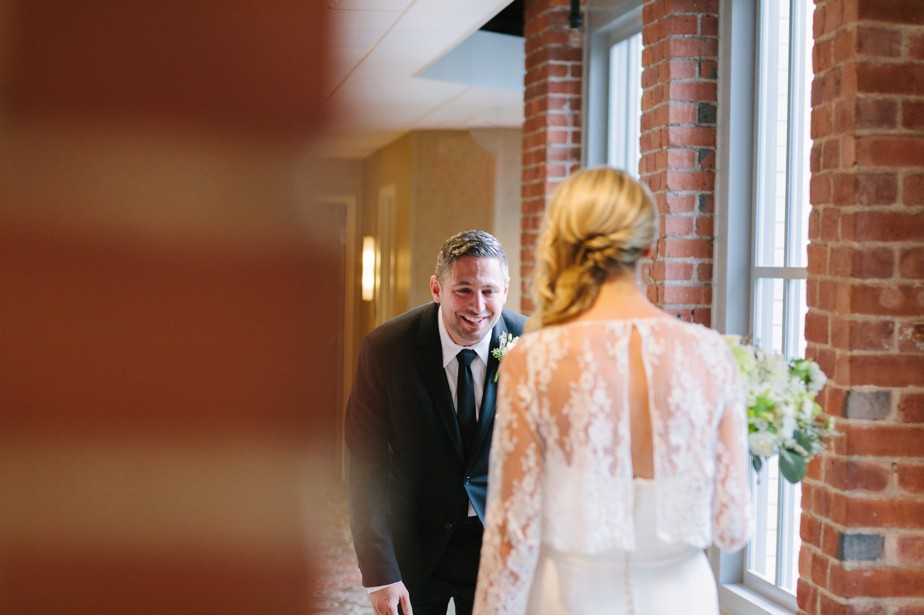 first look at coppersmith boston wedding
