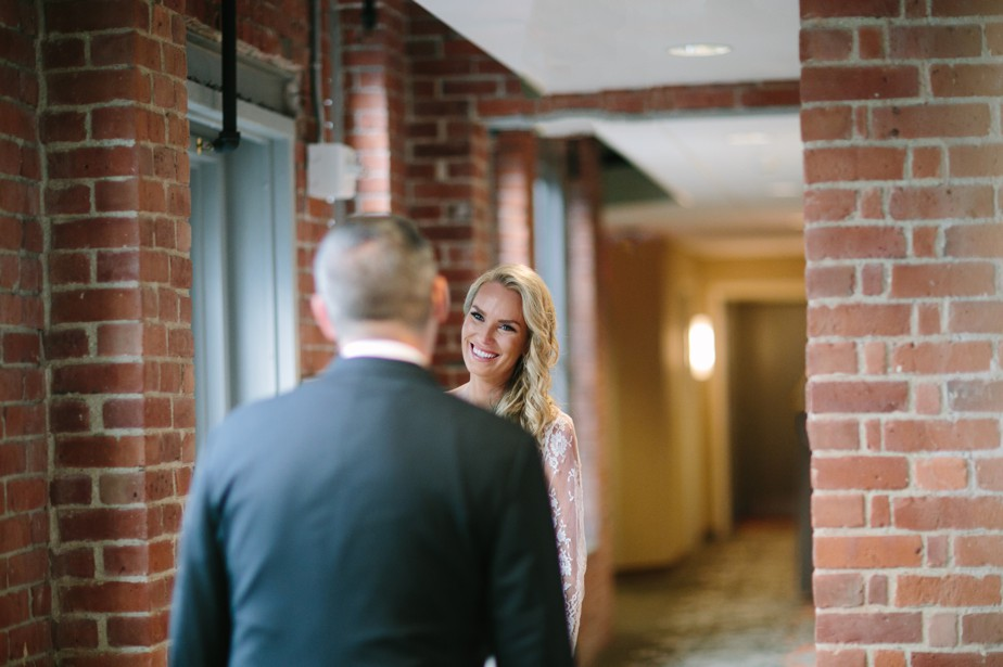 first look at residence inn boston seaport wedding