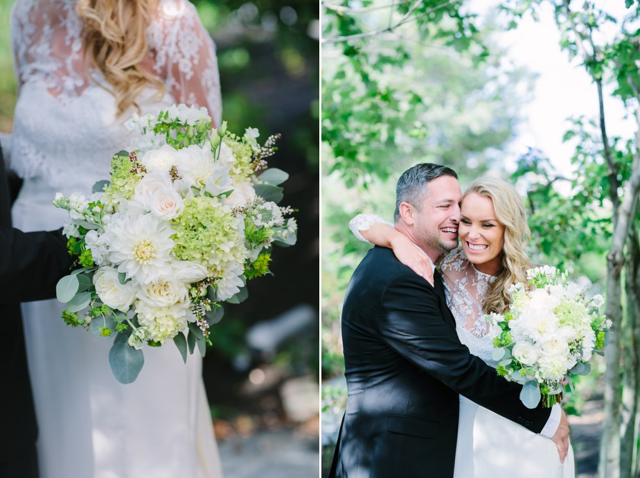 first look happy couple coppersmith boston wedding