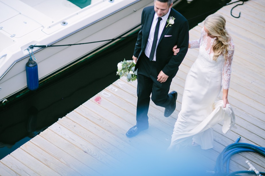 coppersmith boston wedding waterfront portraits