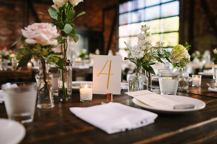 wedding details for coppersmith boston wedding