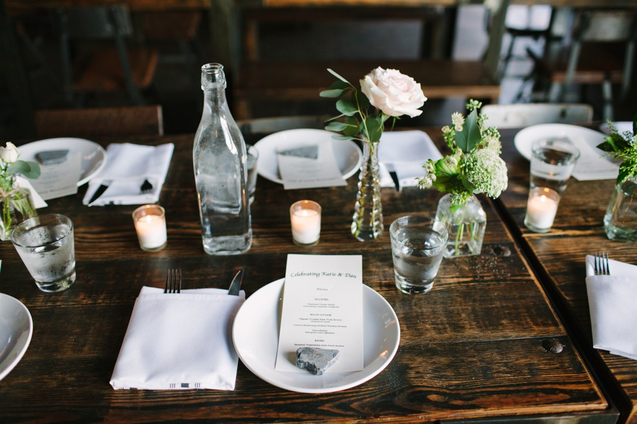 simple details at coppersmith boston wedding