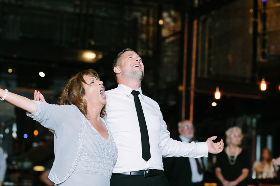 mother son dance boston restaurant wedding at coppersmith boston