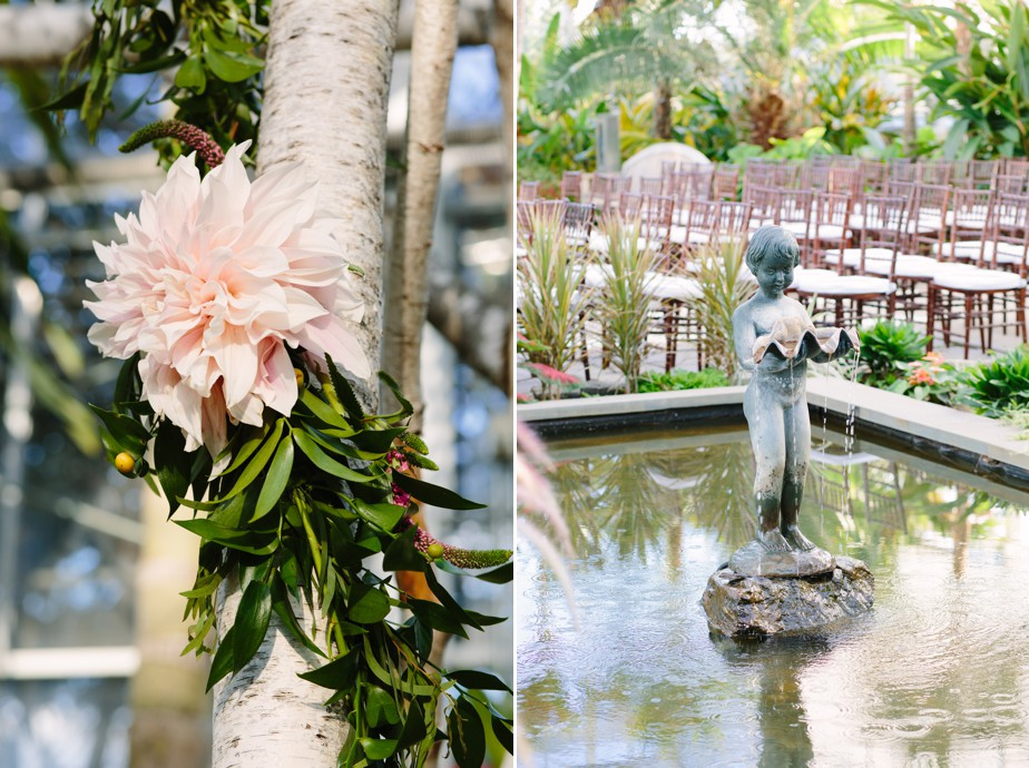 Roger Williams Botanical Garden Wedding, Providence RI