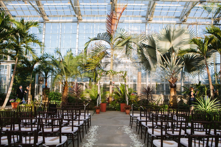 green house wedding Roger Williams Botanical Garden Wedding, Providence RI
