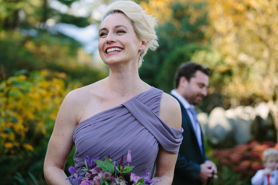 purple bridesmaid dress the estate at moraine farm wedding