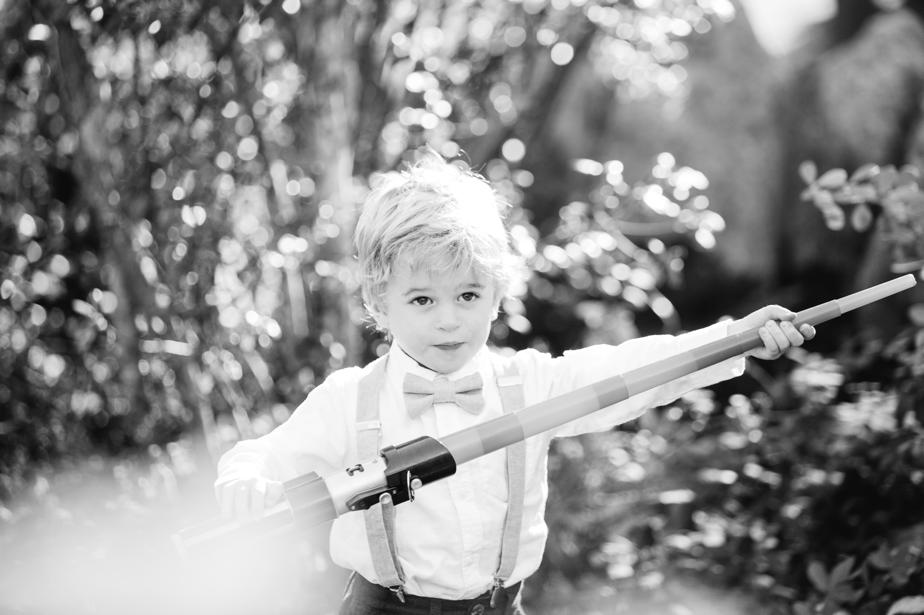 ring bearer at the estate at moraine farm wedding