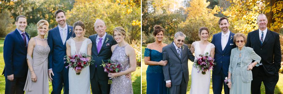 family formals at the estate at moraine farm wedding
