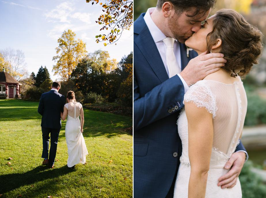 fall wedding with foliahe at the estate at moraine farm wedding