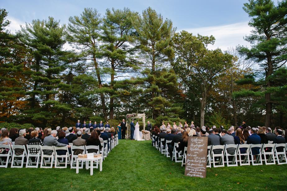 outdoor garden wedding venue the estate at moraine farm wedding