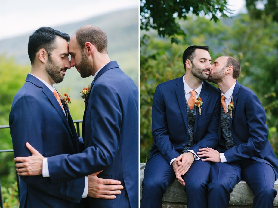 same sex wedding with gay wedding photographer boston