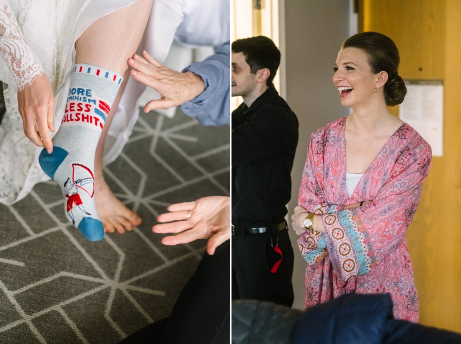 brides funny socks boston public library wedding