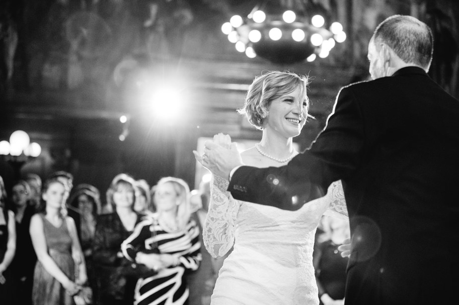 parent dances boston public library wedding