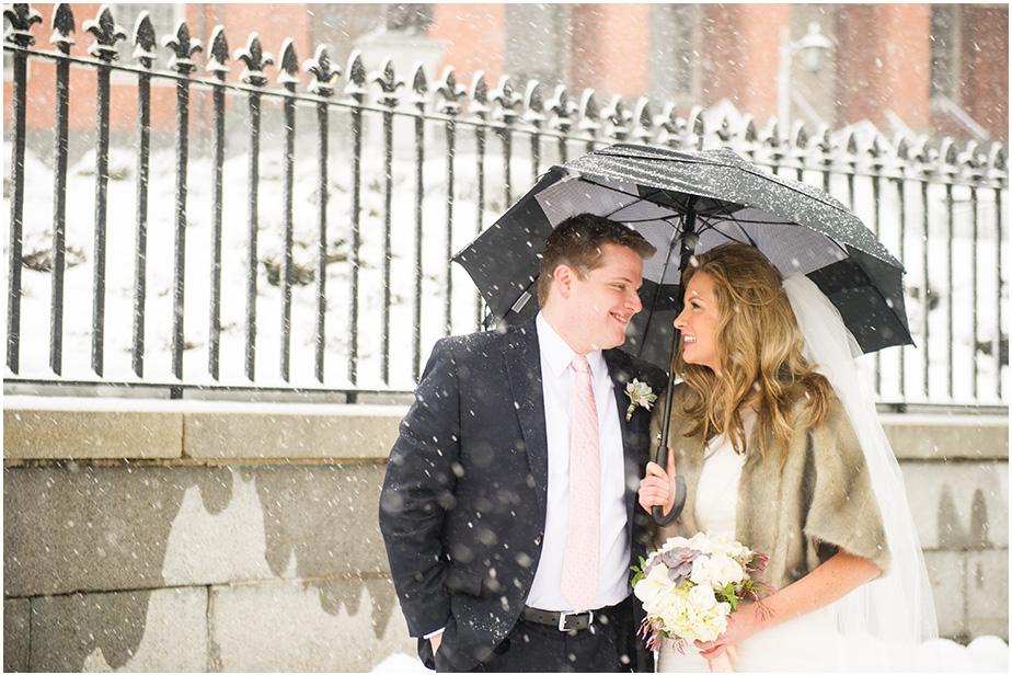 K&P winter wonderland wedding
