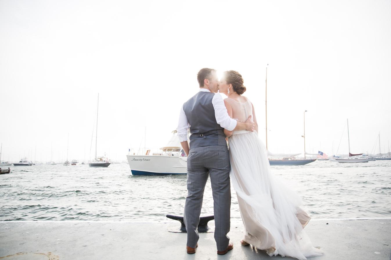 The Landing Restaurant wedding Newport, RI